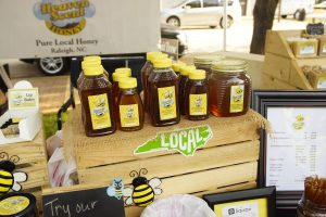 Cary Farmers Market honey
