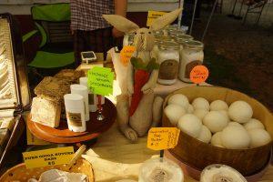 Cary Farmers Market soaps