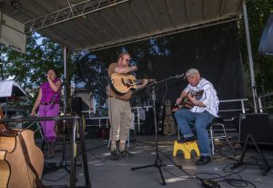 Live music at the Cary Fall Farmers' Festival